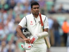 Ravichandran Ashwin top scored for India as they amassed a lead of more than 400 runs in the second Test (Andrew Matthews/PA)