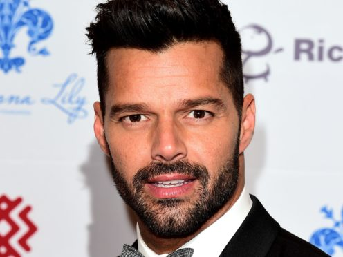 Ricky Martin will be part of the foundation which will launch a charity drive on Valentine's Day (Ian West/PA)