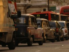 Traffic contributes to PM2.5 fine particle pollution (Andrew Stuart/PA)