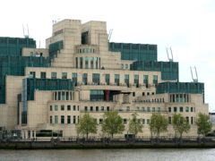 The chief of MI6 has apologised for the service's past treatment of LGBT+ people (Anthony Devlin/PA)