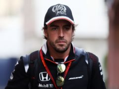 Fernando Alonso has been involved in a cycling accident (David Davies/PA)