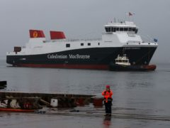 The two ferries will be delivered in 2022 and 2023 respectively (Andrew Milligan/PA)