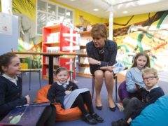 Nicola Sturgeon said getting pupils back to school is the Government's top priority (Callum Moffat/Daily Record/PA)