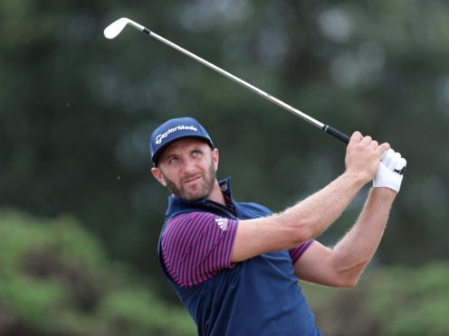 World number one Dustin Johnson won the Saudi International for the second time in three years (Richard Sellers/PA)