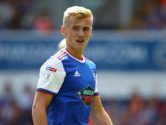 Ipswich had Flynn Downes sent off in stoppage time (John Walton/PA)