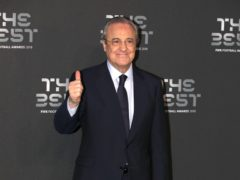 Real Madrid president Florentino Perez is understood to be one of the key movers behind European Super League proposals (Tim Goode/PA)
