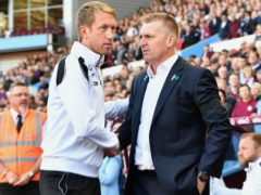 Graham Potter and Dean Smith are among the eight English managers in charge of Premier League clubs (Anthony Devlin/PA)