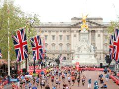 Runners during the 2019 Virgin Money London Marathon (PA)