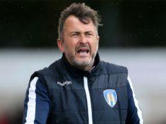 Colchester manager Steve Ball (Richard Sellers/PA)