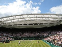 Wimbledon is set to be staged in front a reduced number of fans (Steven Paston/PA)