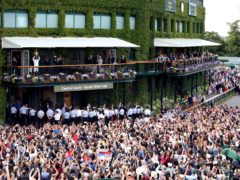 Wimbledon could play host to capacity crowds this summer (Steven Paston/PA).