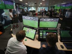 A general view of the Premier League Productions VAR Hub at Stockley Park (Chris Radburn/PA)