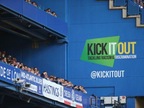 Tony Burnett is Kick It Out's new CEO (Steven Paston/PA)
