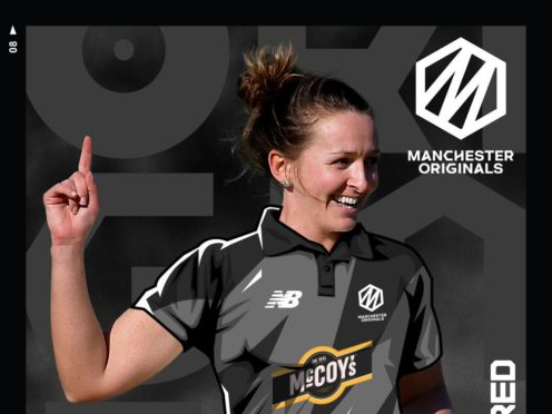 Kate Cross will captain the Manchester Originals in the opening match of The Hundred (ECB Handout/PA).