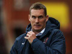 Exeter boss Matt Taylor (Mark Kerton/PA)