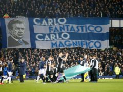 Everton manager Carlo Ancelotti has won over players and fans with his astute tactical acumen (Martin Rickett/PA)