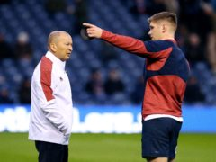 Eddie Jones is sticking by his captain Owen Farrell (Andrew Milligan/PA).