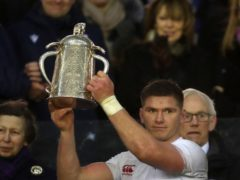England are the current holders of the Calcutta Cup (PA)