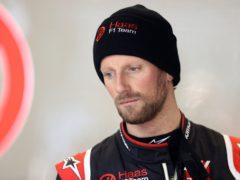 Romain Grosjean was injured in a horrific accident at the Bahrain Formula One Grand Prix in November (David Davies/PA)