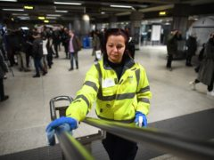 No traces of coronavirus has been detected on London's public transport network in tests dating back to October 2020, researchers said (Stefan Rousseau/PA)