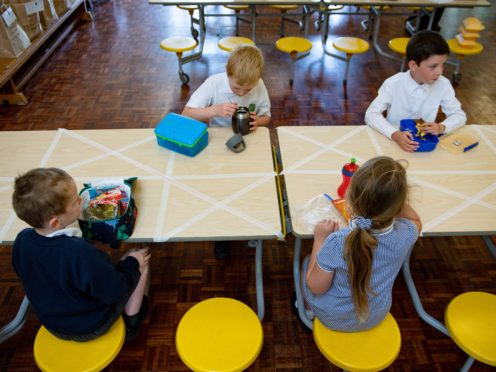 Younger pupils will be back at school on Monday (Jacob King/PA)