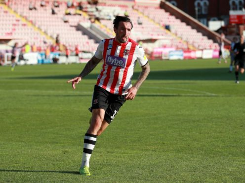 Ryan Bowman was among the scorers for Exeter (Adam Davy/PA)
