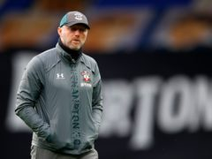Southampton manager Ralph Hasenhuttl takes his depleted squad to Goodison Park on Monday night (Clive Brunskill/NMC Pool/PA)