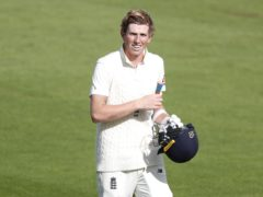 Zak Crawley is fit again for England (Alastair Grant/PA)