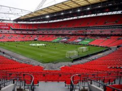 Wembley Stadium is due to host the Euro 2020 semi-finals and final (Justin Tallis/PA)