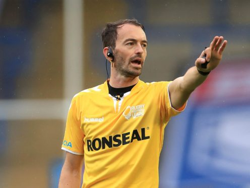 Referee James Child has publicly confirmed he is gay (Mike Egerton/PA)