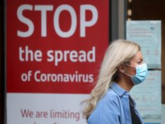 A health expert has said eliminating Covid-19 in Scotland is near impossible (Andrew Milligan/PA)