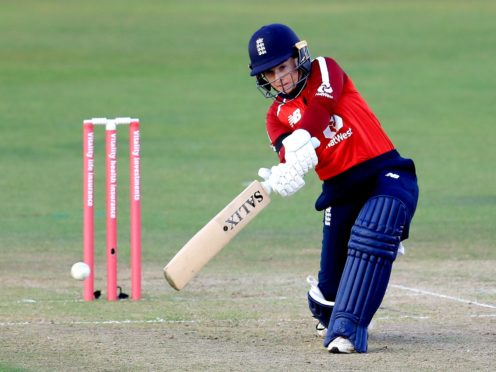 Tammy Beaumont hit 71 as England defeated New Zealand (Mike Egerton/PA)