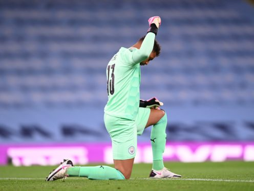 Manchester City goalkeeper Zack Steffen has helped launched an anti-racism programme in the United States (Laurence Griffiths/PA)