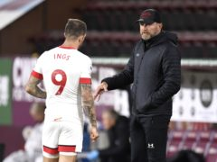 Southampton manager Ralph Hasenhuttl will not share details of Danny Ings' contract talks (Peter Powell/PA)