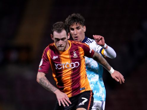 Harry Pritchard is a doubt for the visit of Leyton Orient (Tim Goode/PA)