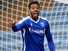 Gillingham's Vadaine Oliver earned his side a point at Portsmouth (John Walton/PA)