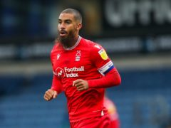 Lewis Grabban could return to the Nottingham Forest side to face Bournemouth (Barrington Coombs/PA)