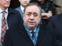 Alex Salmond sought legal assurances from the committee (Jane Barlow/PA)