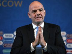 FIFA president Gianni Infantino has strongly rejected reports he gave instructions to female officials about how to greet a member of the Qatari delegation at the Club World Cup (Nick Potts/PA)