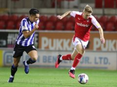 Rotherham need to check on the fitness of Jamie Lindsay (right) (Danny Lawson/PA)