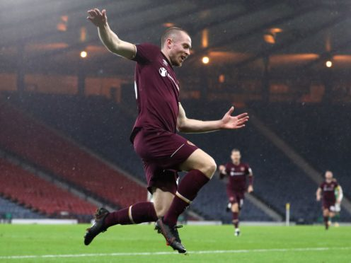 On-loan Hearts forward Craig Wighton scored twice for Dunfermline against Alloa (Andrew Milligan/PA)