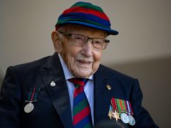 The millions of pounds raised by Captain Sir Tom Moore have funded a range of projects providing practical and emotional help to NHS staff and volunteers (Jacob King/PA)