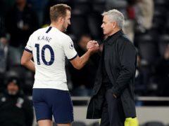 Jose Mourinho knows Harry Kane wants to win trophies (John Walton/PA)