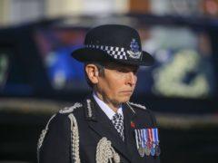 Metropolitan Police Commissioner Dame Cressida Dick (Gareth Fuller/PA)