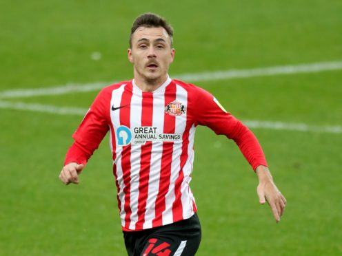 Josh Scowen was absent in midweek with a hamstring issue but could return for Sunderland's game at Crewe (Richard Sellers/PA)
