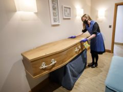ONS figures show there were 2,364 deaths of care home residents involving Covid-19 in the week ending January 22 (Danny Lawson/PA)
