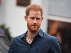 The Duke of Sussex is a big rugby fan (Victoria Jones/PA)