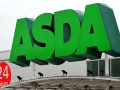 An Asda store (Rui Vieira/PA)