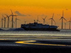 Oil majors BP and France's Total have won the rights to build offshore wind farms (Peter Byrne/PA)