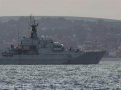 HMS Mersey (Andrew Matthews/PA)
